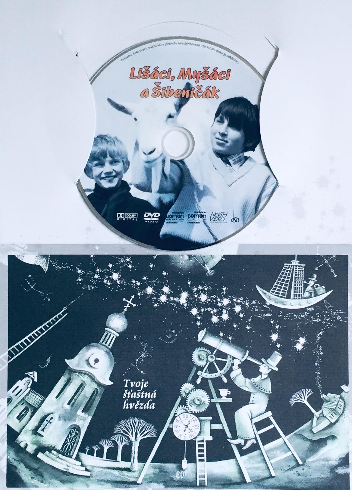 Lišáci, Myšáci a Šibeničák - DVD /dárkový obal/