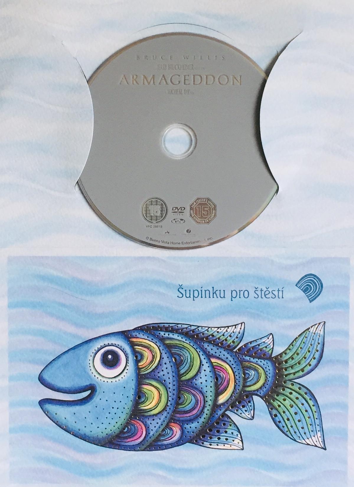 Armageddon - DVD /dárkový obal/