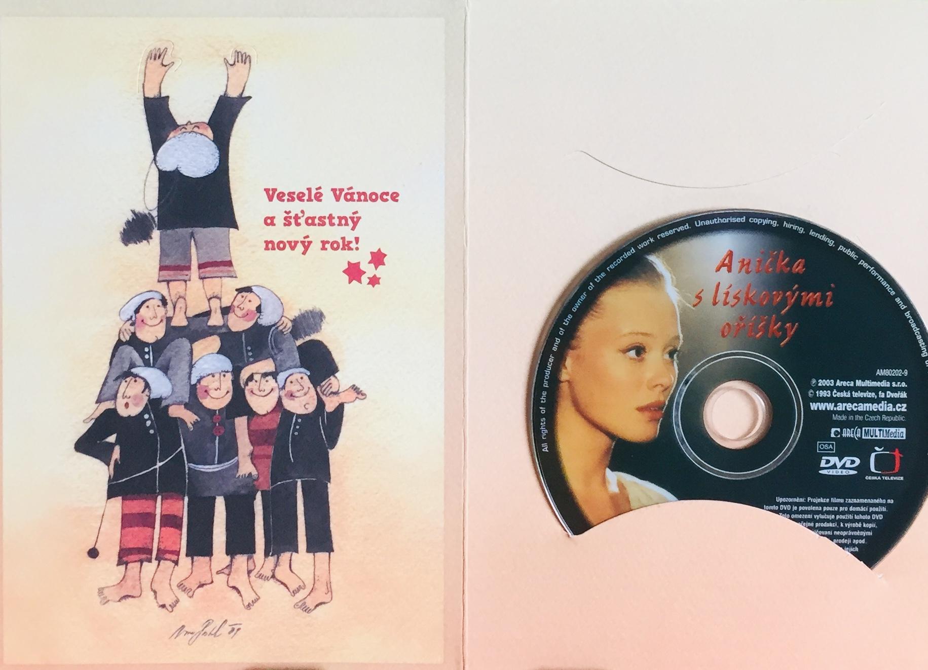 Anička s lískovými oříšky - DVD /dárkový obal/