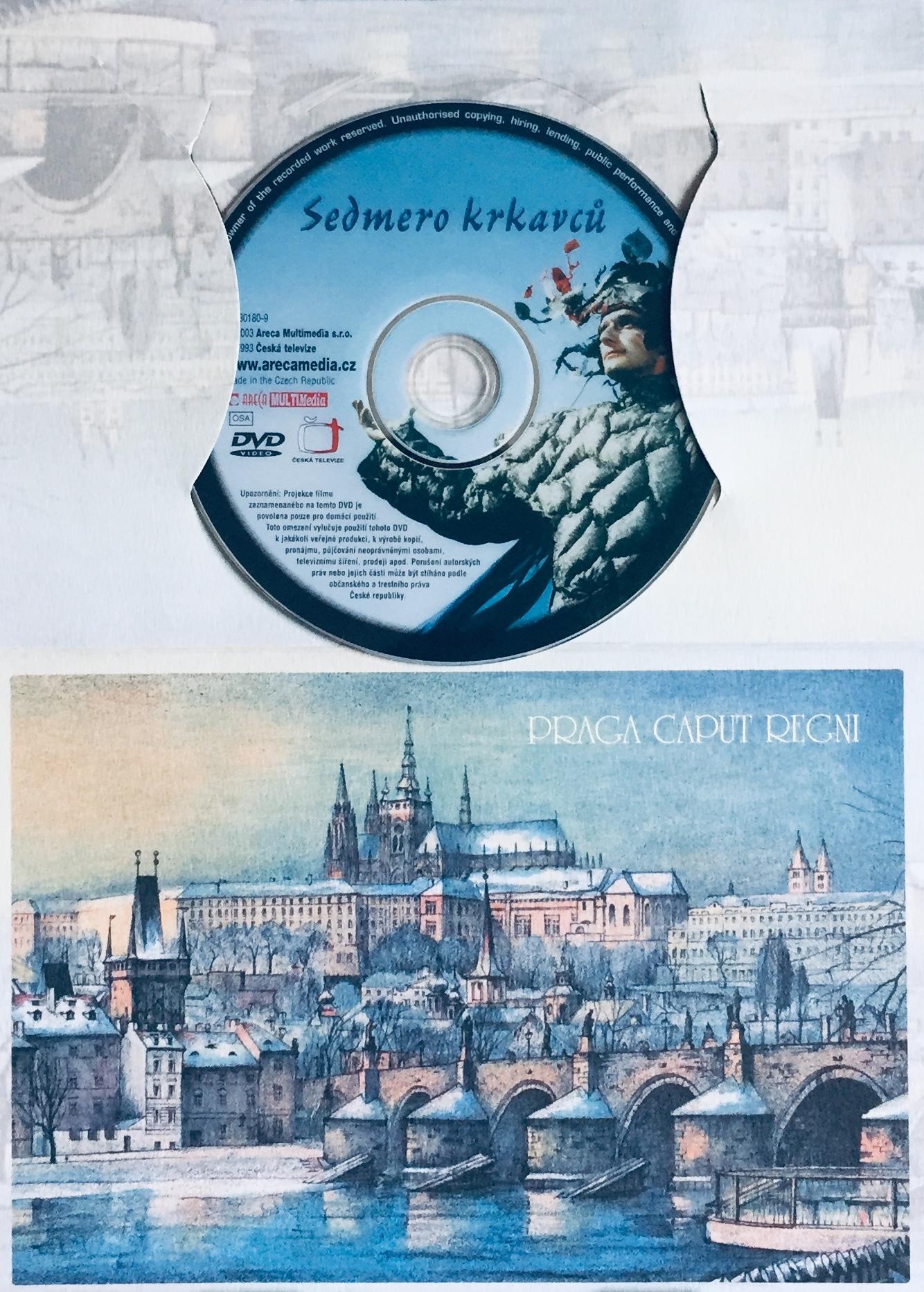 Sedmero krkavců - DVD /dárkový obal/