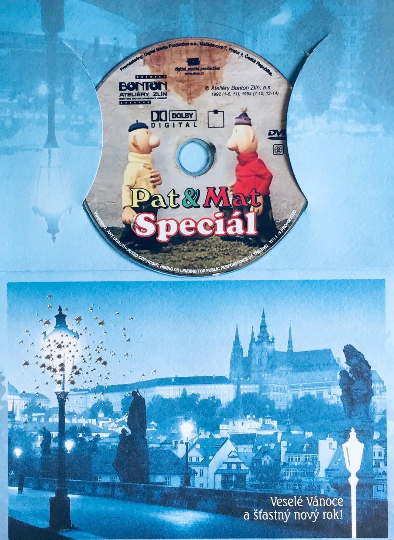 Pat a Mat Speciál - DVD /dárkový obal/