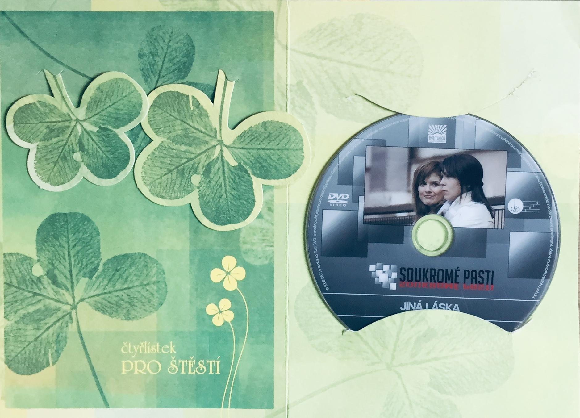 Soukromé pasti 3 - Jiná láska - DVD /dárkový obal/