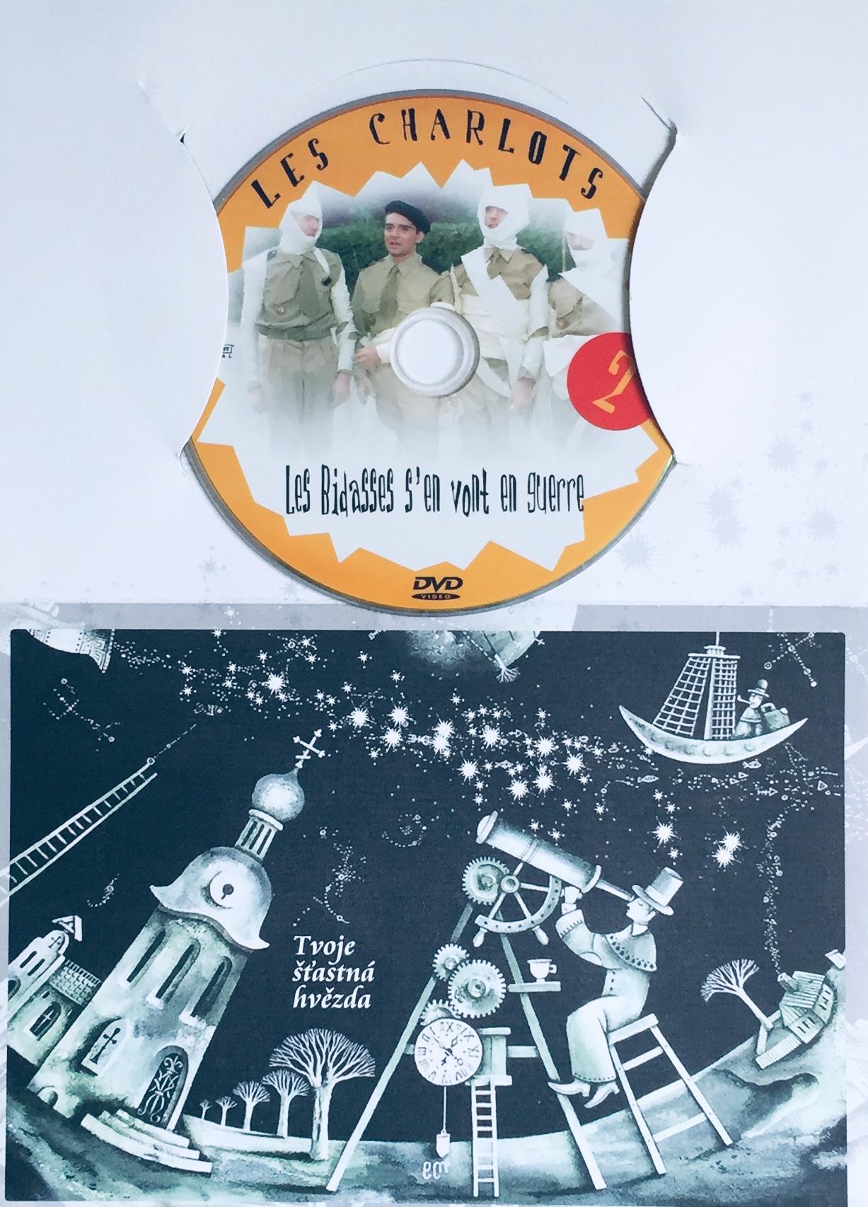 Les Charlots 2 / Bažanti jdou do boje - DVD /dárkový obal/