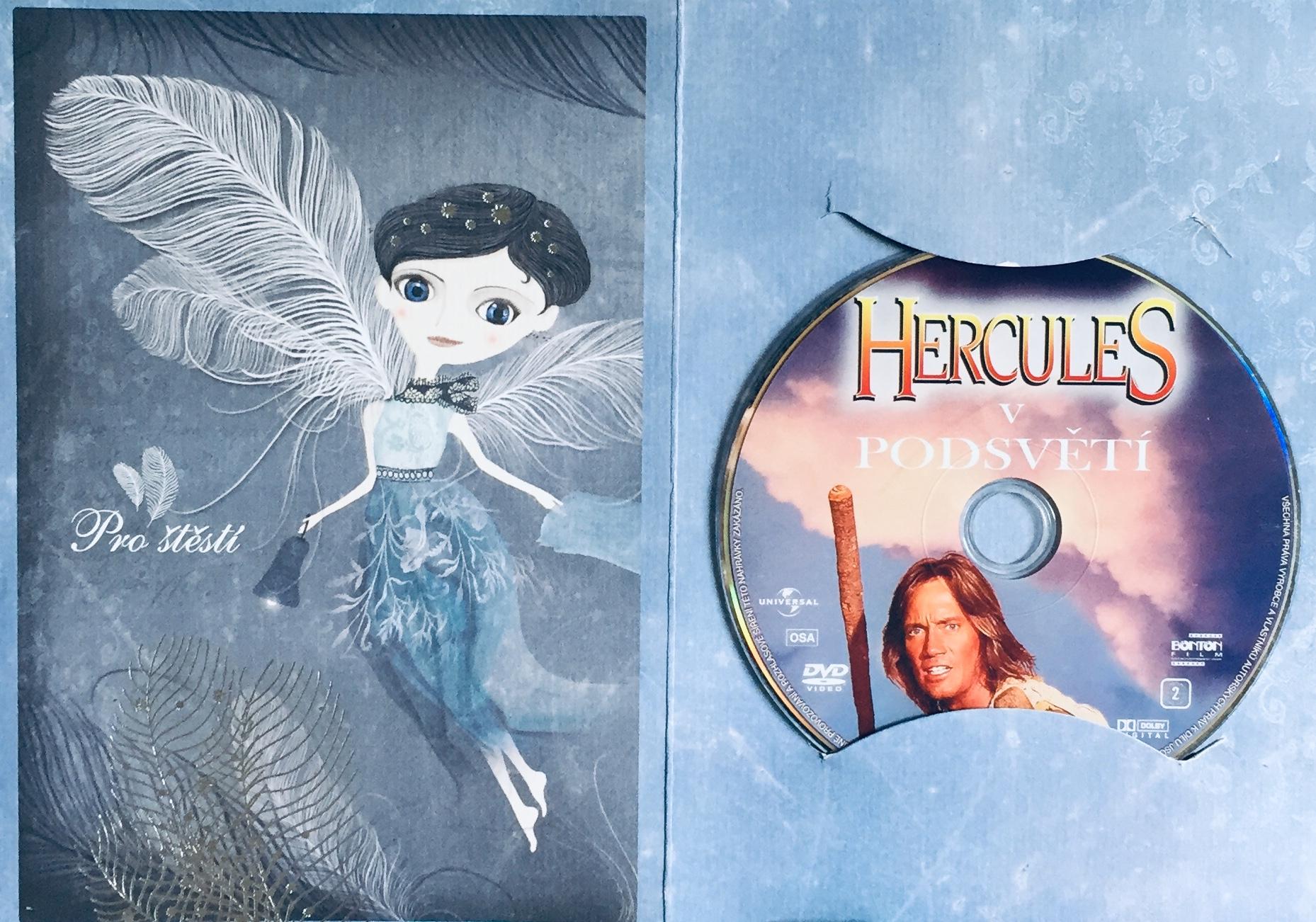 Hercules v podsvětí - DVD /dárkový obal/