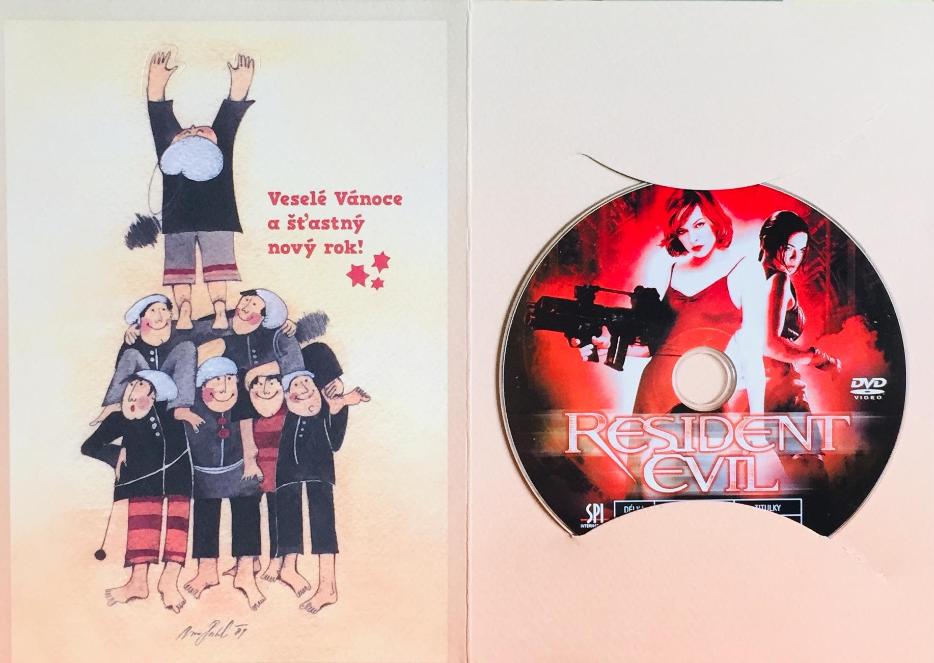 Resident Evil - DVD /dárkový obal/