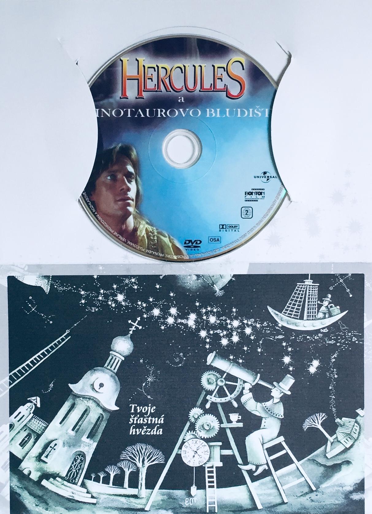 Hercules a Minotaurovo bludiště - DVD /dárkový obal/
