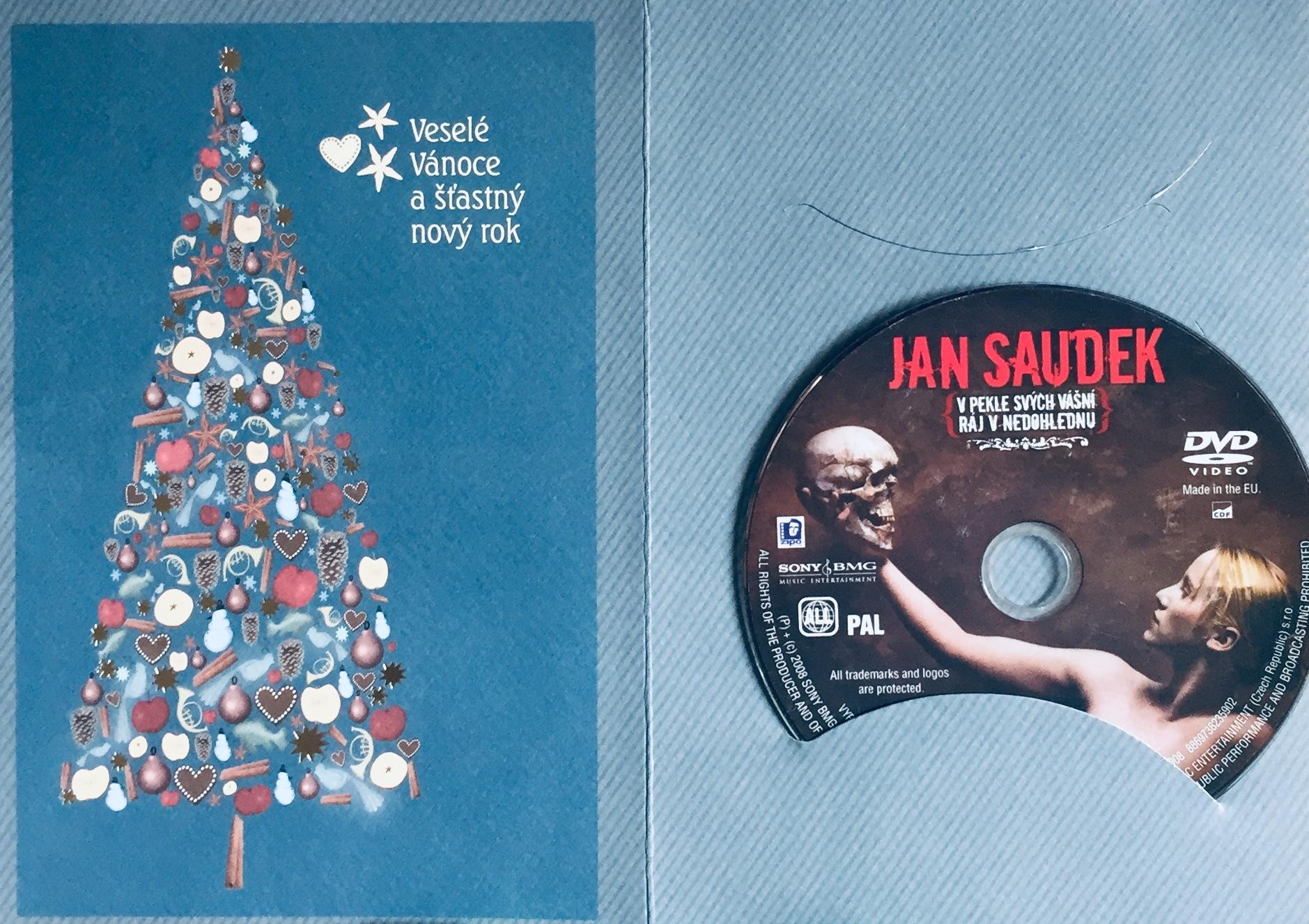 Jan Saudek - V pekle svých vášní, ráj v nedohlednu - DVD /dárkový obal/