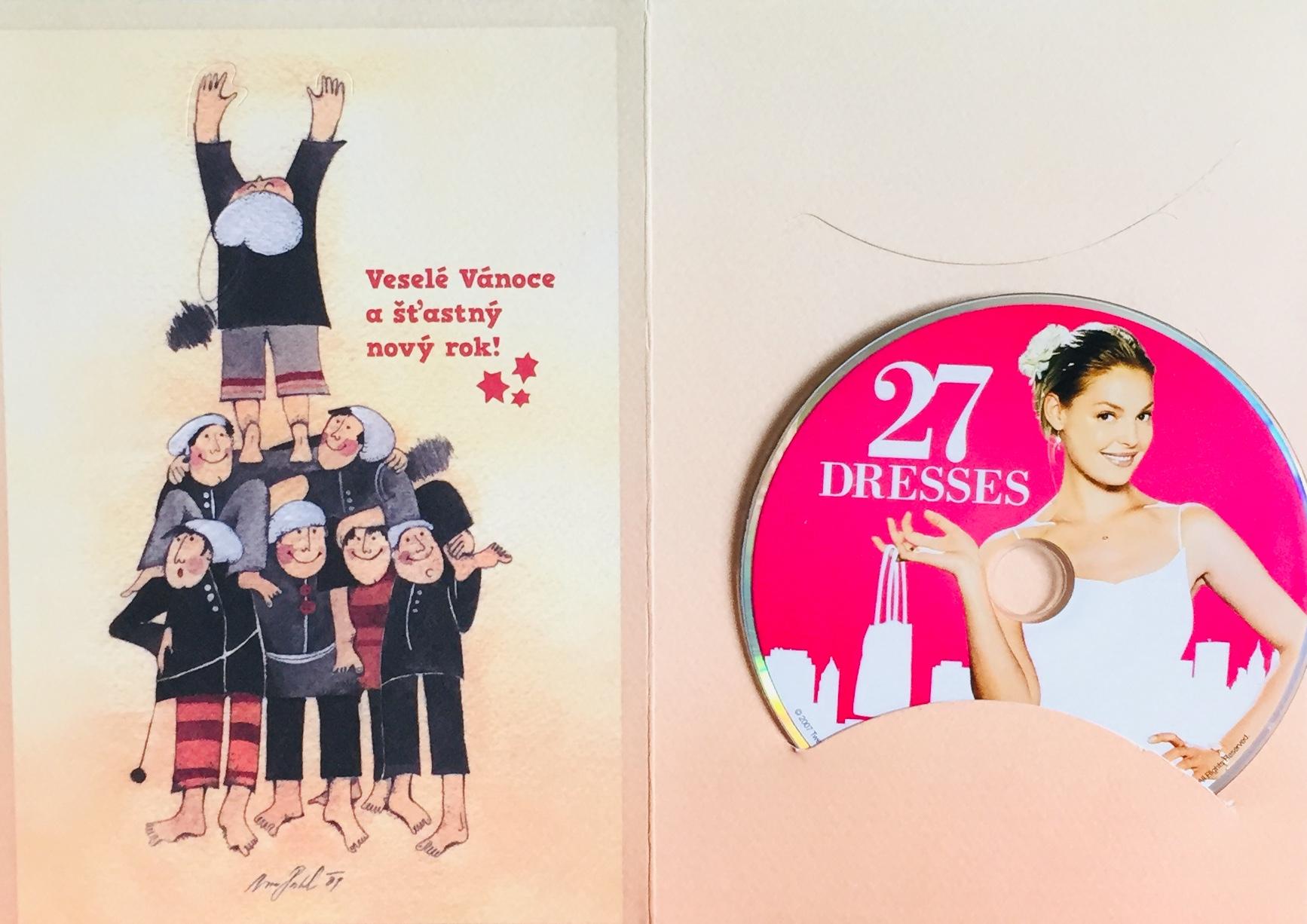27 dresses / 27 šatů - DVD /dárkový obal/