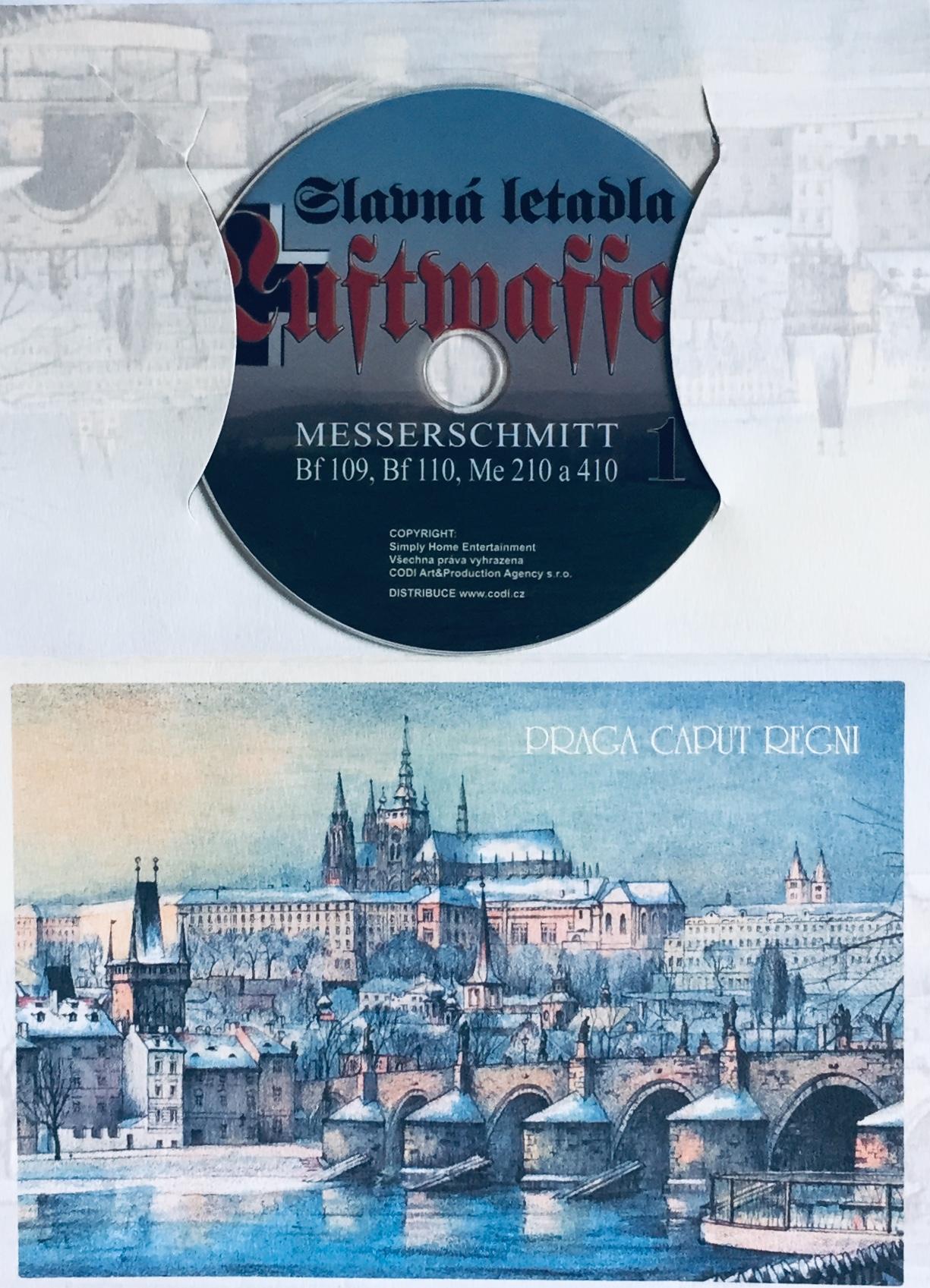 Slavná letadla Luftwaffe 1 - DVD /dárkový obal/