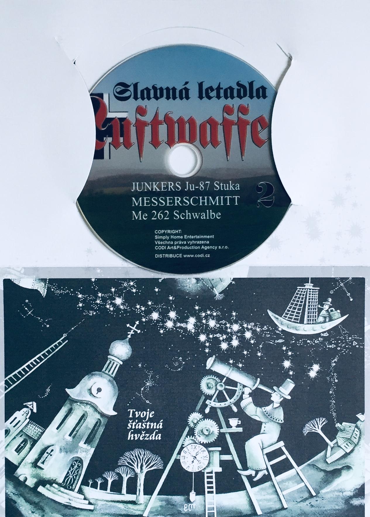 Slavná letadla Luftwaffe 2 - DVD /dárkový obal/