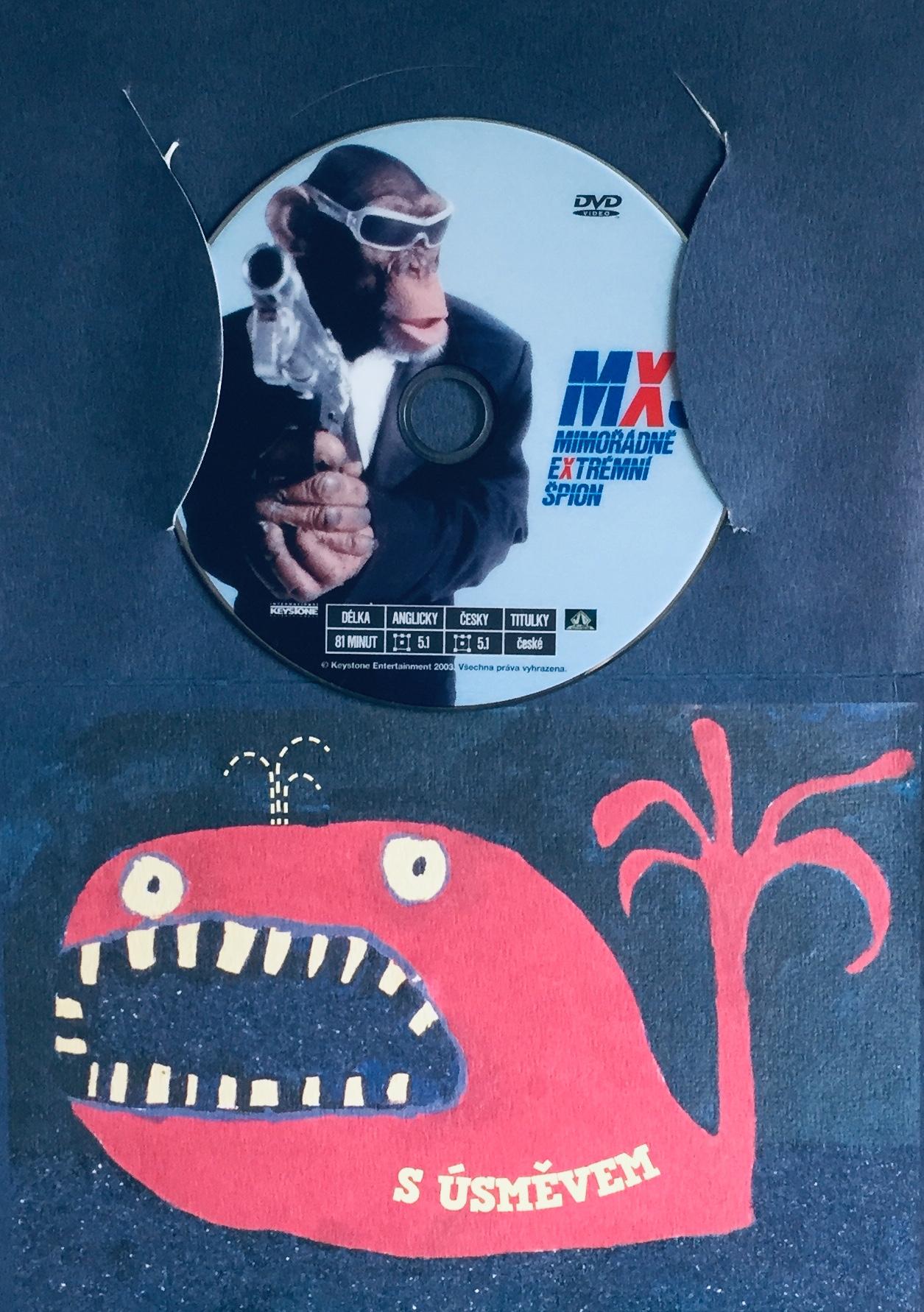 MXŠ - Mimořádně extrémní špion - DVD /dárkový obal/