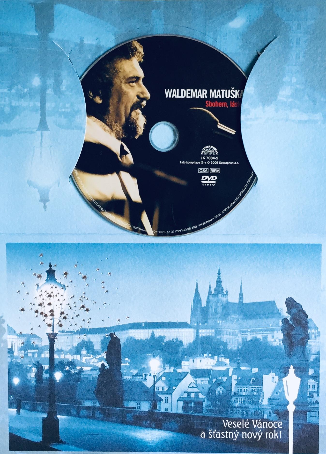 Waldemar Matuška - Sbohem, lásko - DVD /dárkový obal/