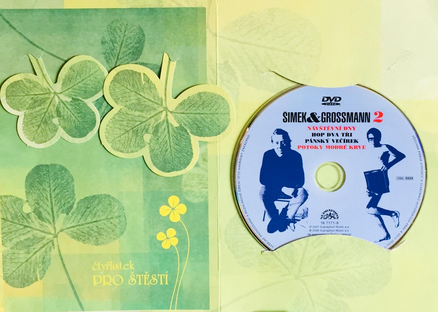 Šimek & Grossmann 2 - DVD /dárkový obal/
