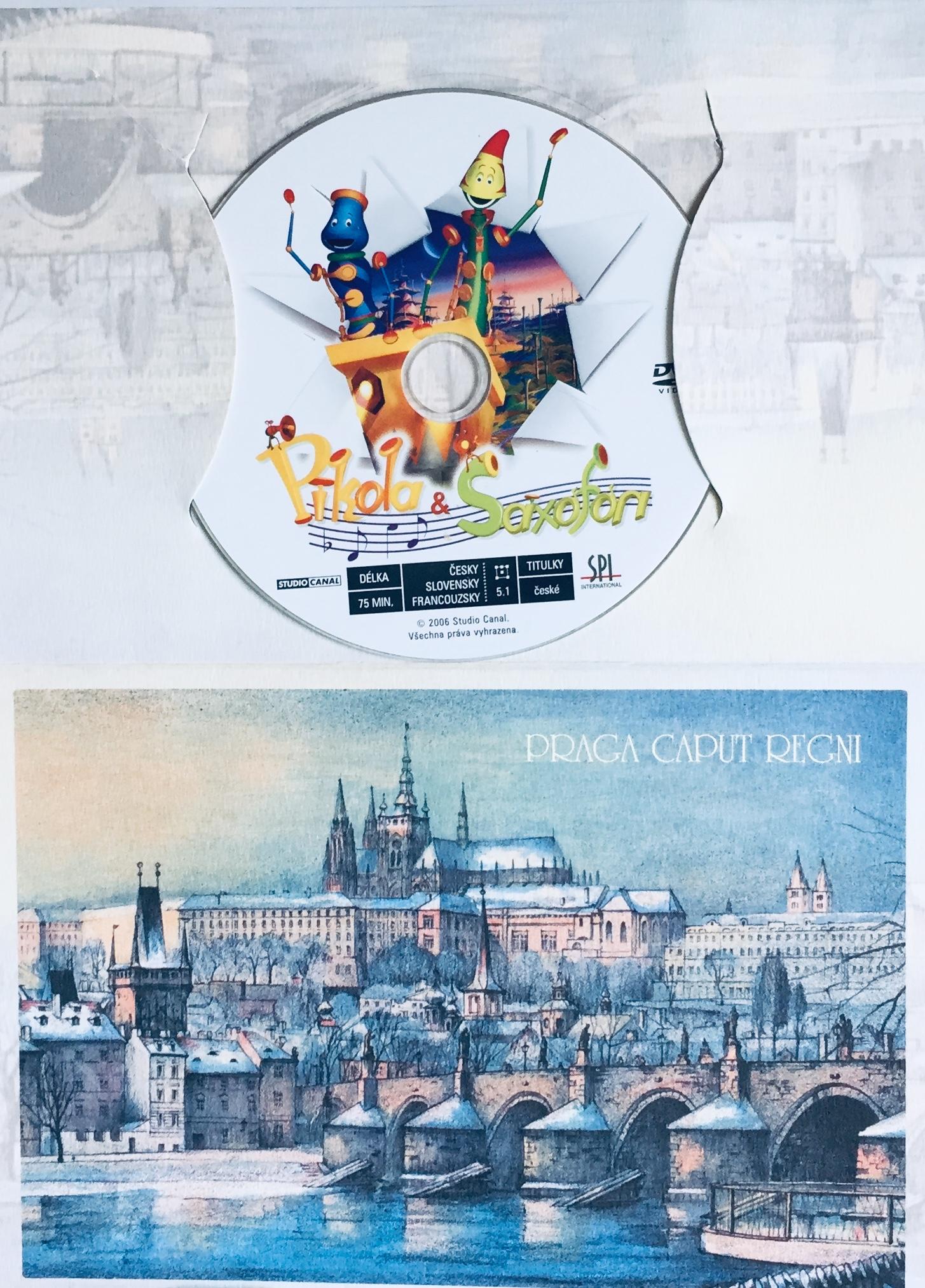 Pikola a Saxofon - DVD /dárkový obal/