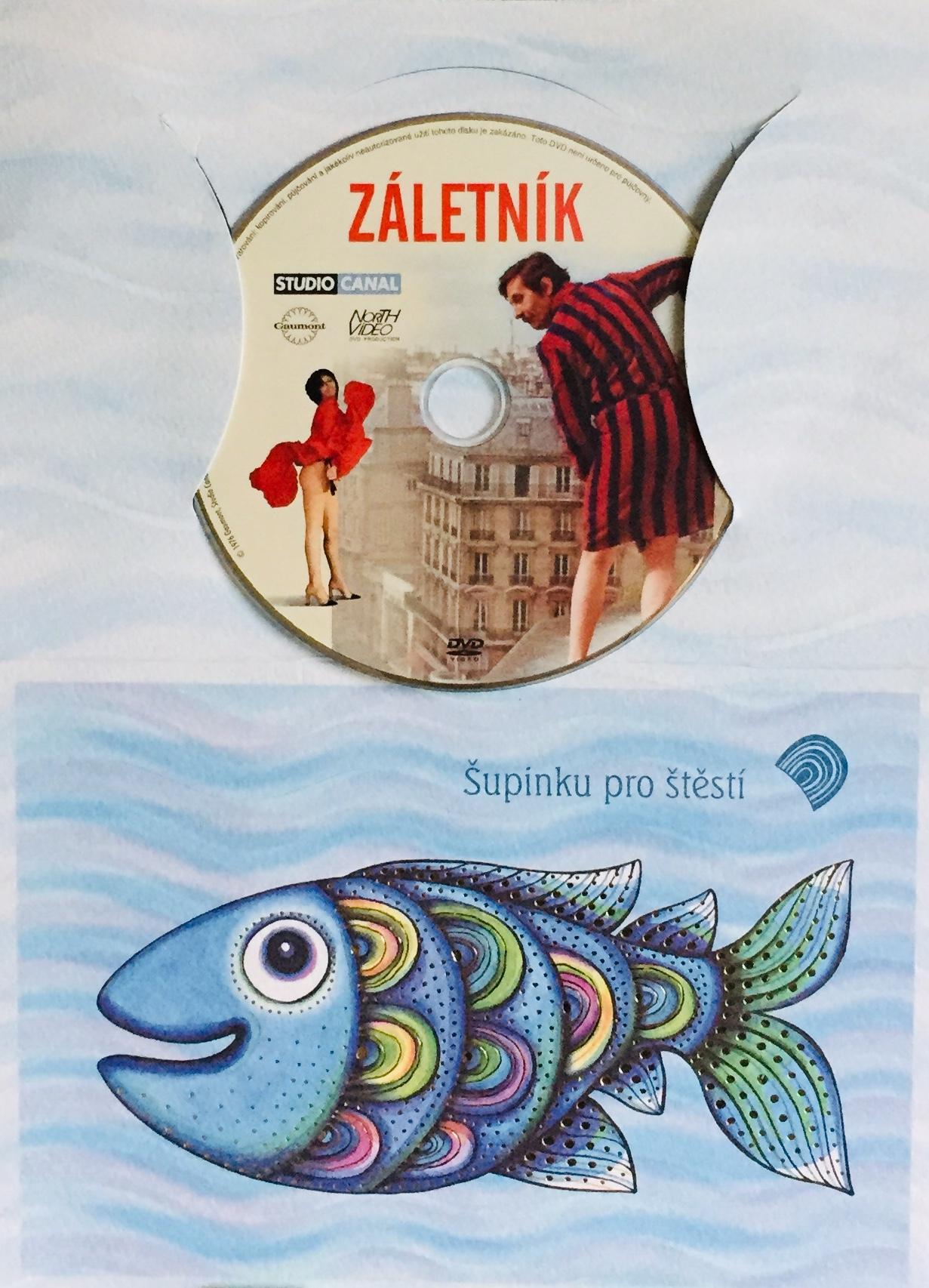 Záletník - DVD /dárkový obal/