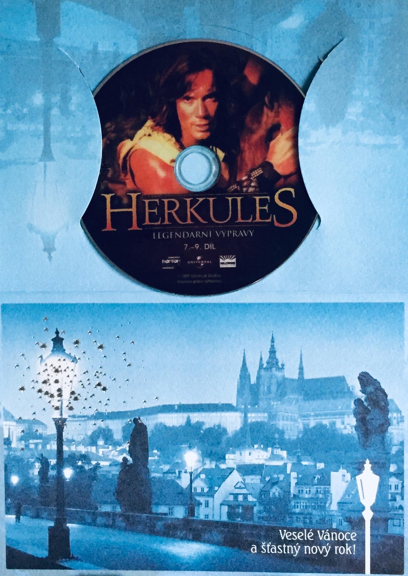 Herkules - Legendární výpravy - 7.-9. díl - DVD /dárkový obal/