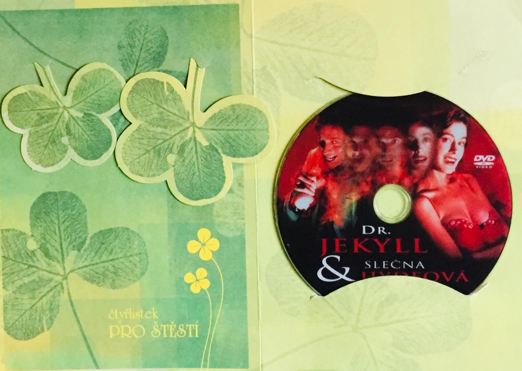 Dr. Jekyll & slečna Hydenová - DVD /dárkový obal/