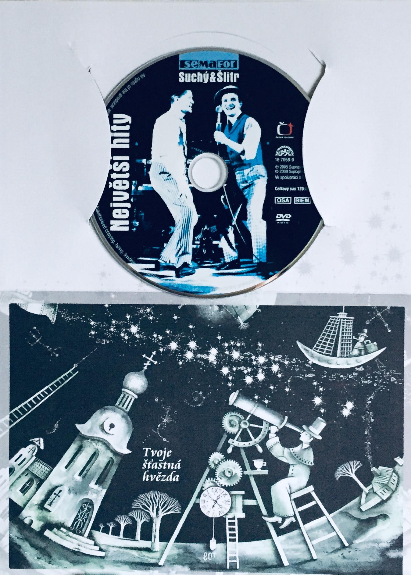 Suchý & Šlitr - Největší hity - DVD /dárkový obal/