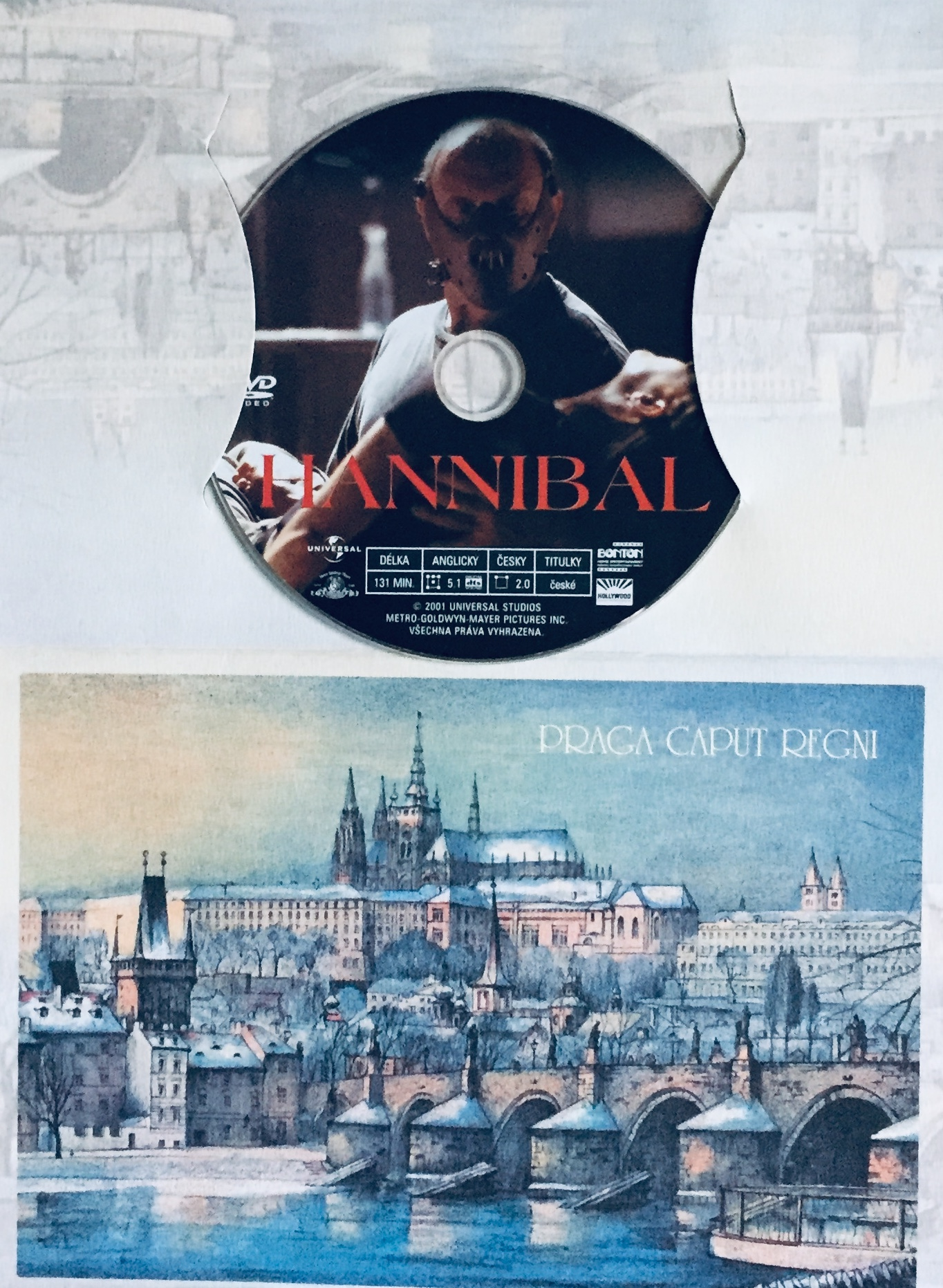 Hannibal - DVD /dárkový obal/