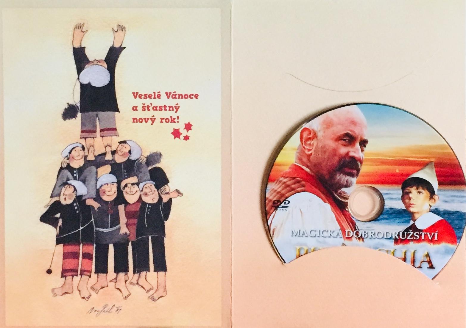 Pinocchio - Magická dobrodružství - DVD /dárkový obal/