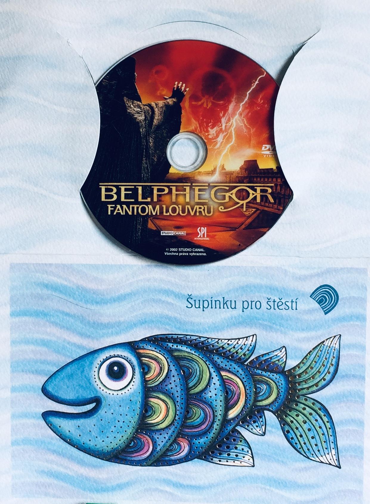 Belphegor - Fantom Louvru - DVD /dárkový obal/