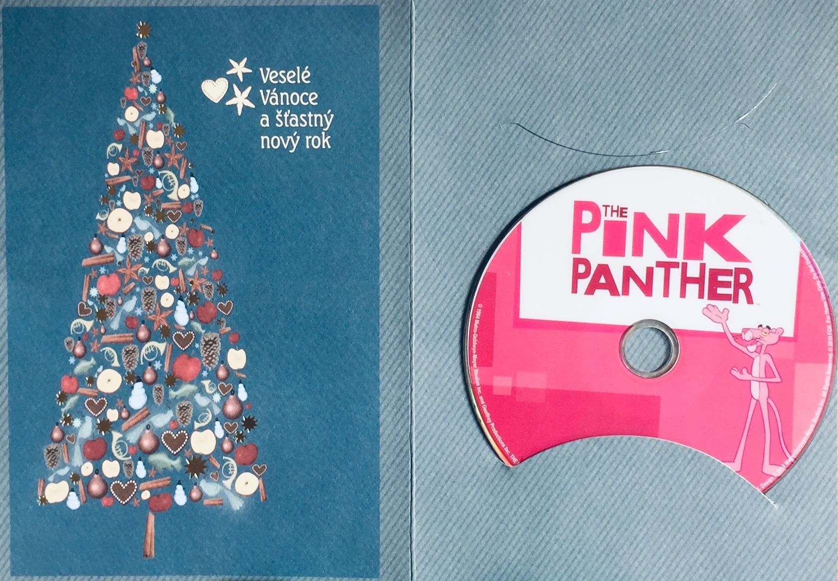 Pink Panther / Růžový Panter - DVD /dárkový obal/