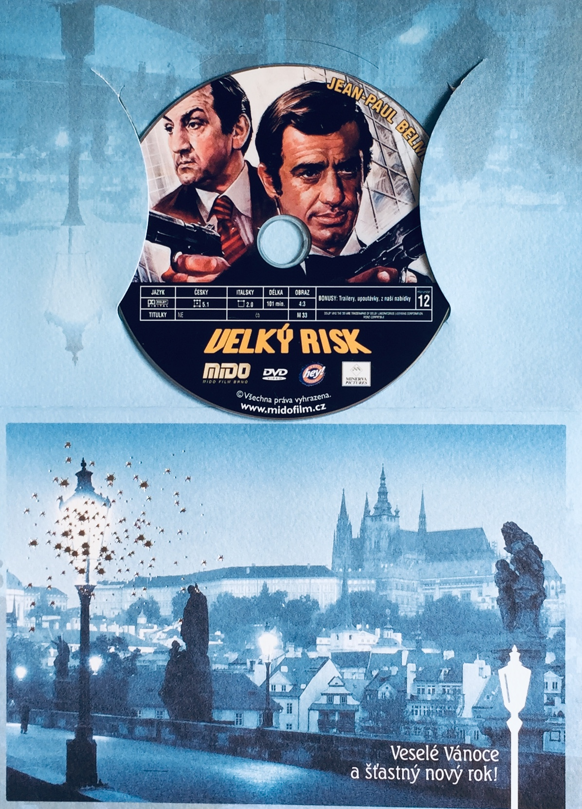 Velký risk - DVD /dárkový obal/