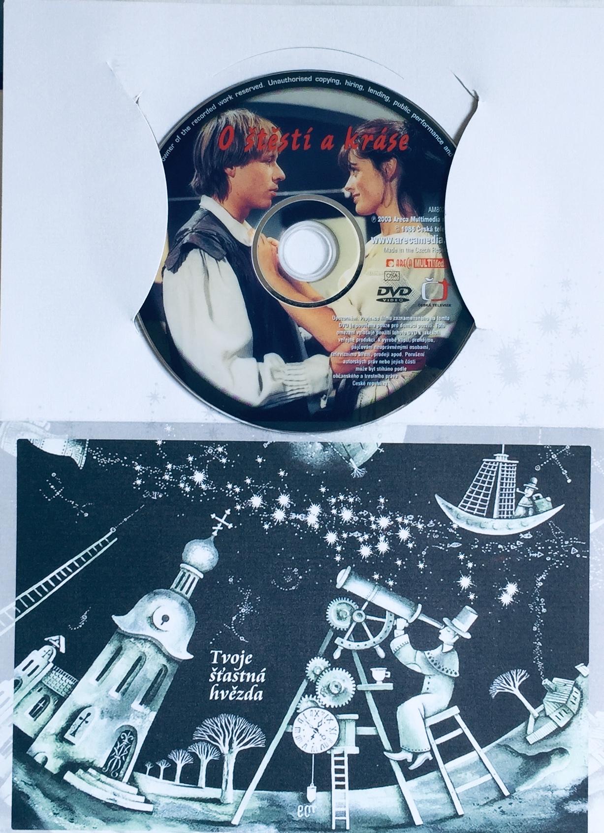O štěstí a kráse - DVD /dárkový obal/