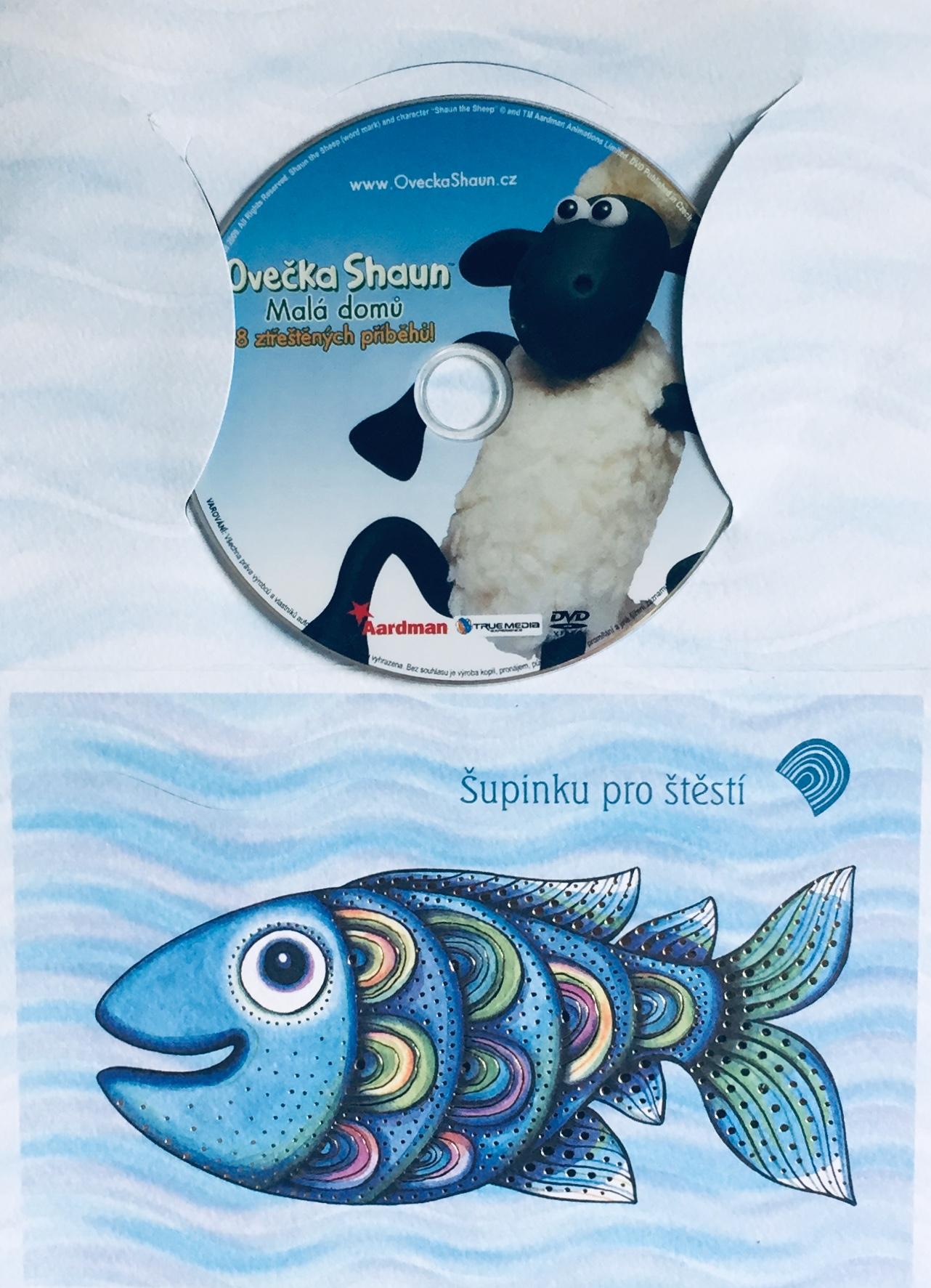 Ovečka Shaun - Malá domů - DVD /dárkový obal/