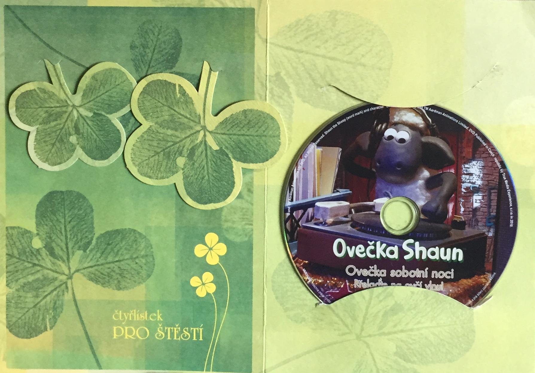 Ovečka Shaun - Ovečka sobotní noci - DVD /dárkový obal/