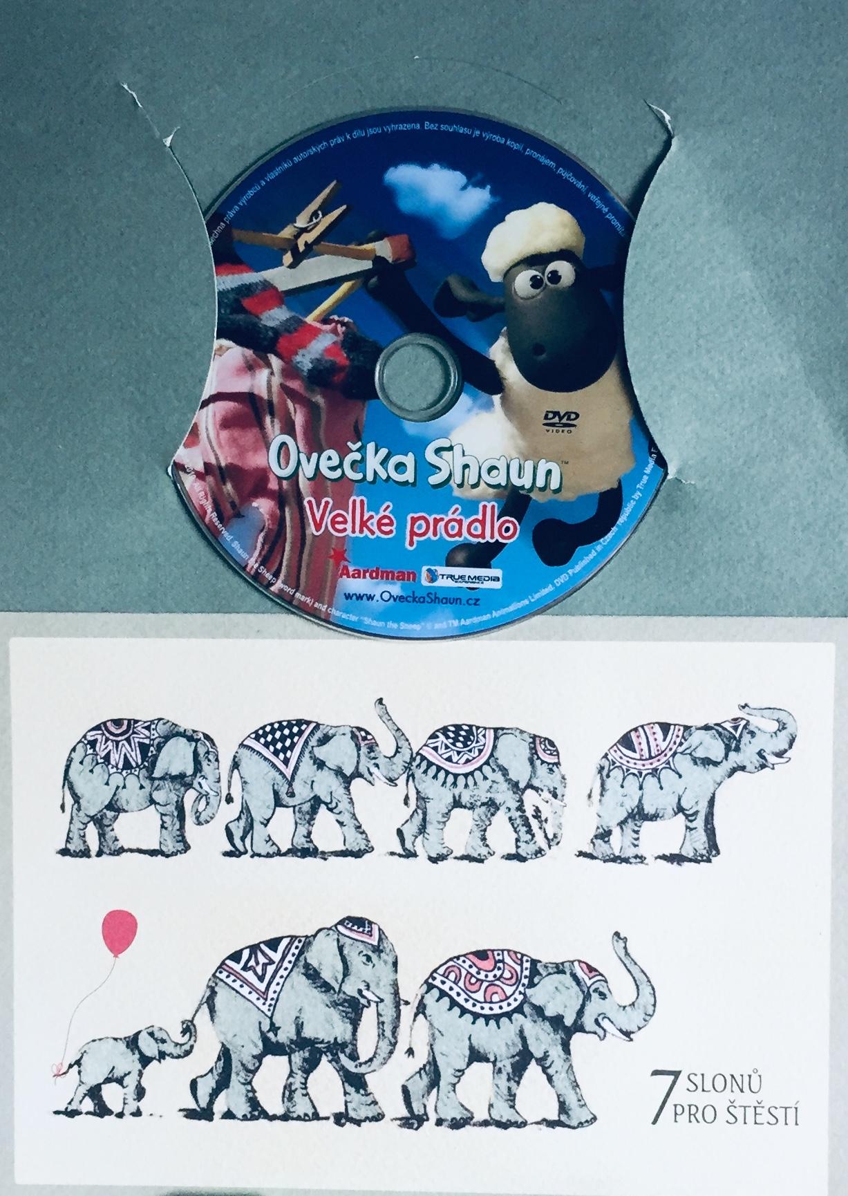 Ovečka Shaun - Velké prádlo - DVD /dárkový obal/