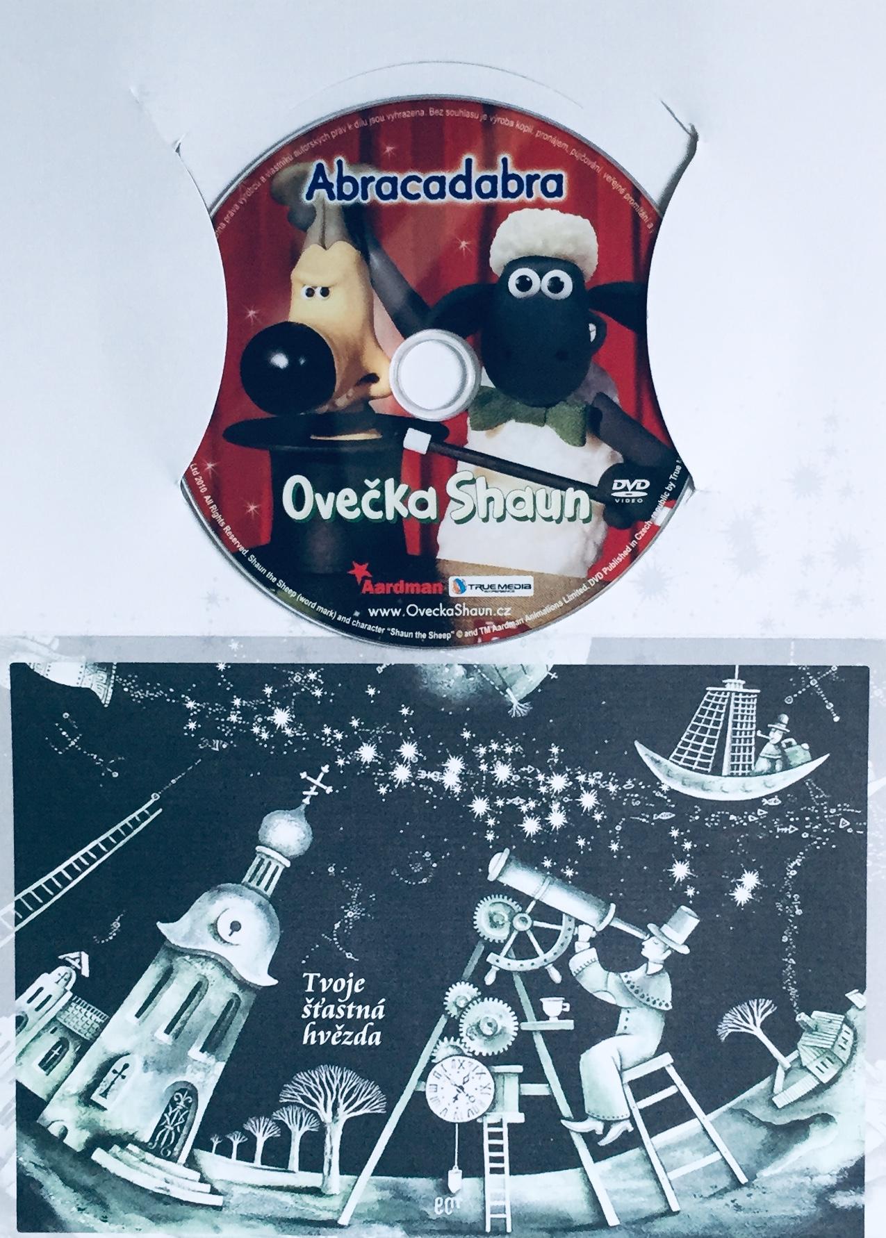 Ovečka Shaun - Abracadabra - DVD /dárkový obal/