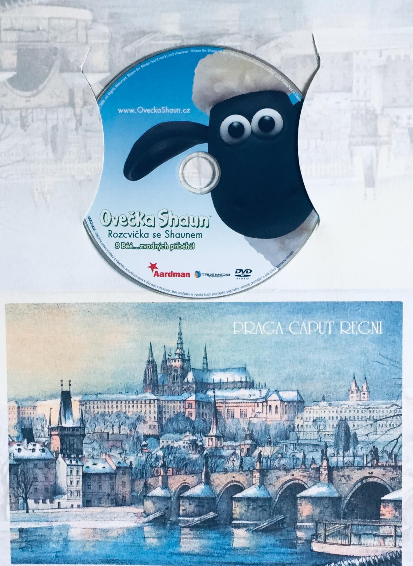 Ovečka Shaun - Rozcvička se Shaunem - DVD /dárkový obal/