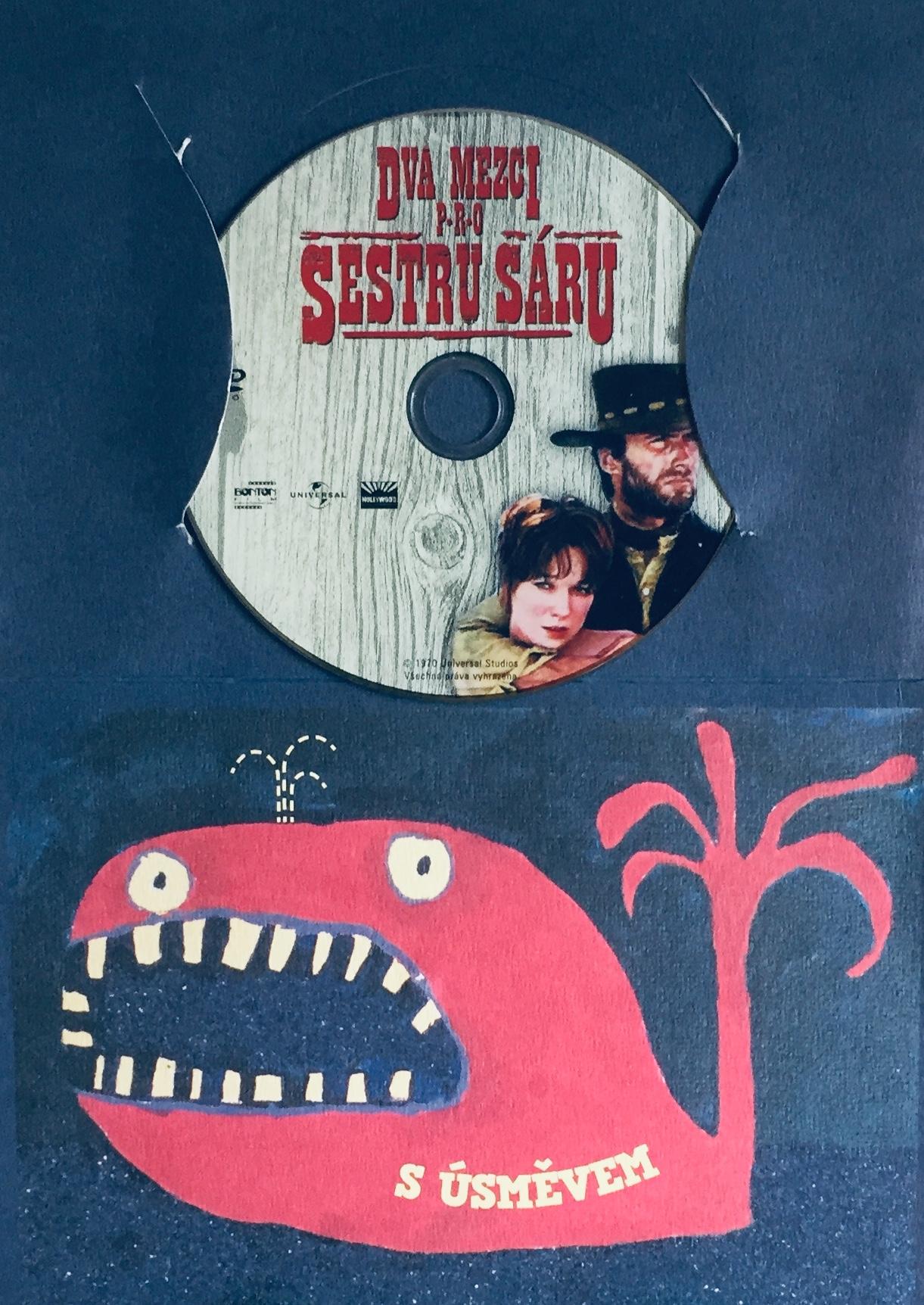 Dva mezci pro sestru Sáru - DVD /dárkový obal/