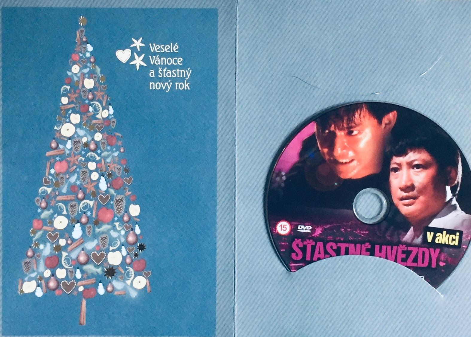 Šťastné hvězdy v akci - DVD /dárkový obal/