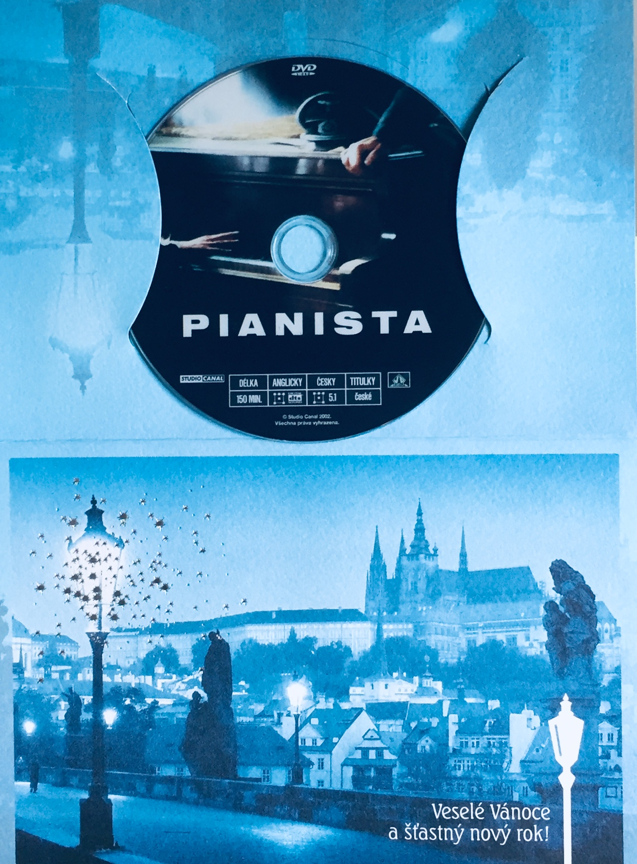 Pianista - DVD /dárkový obal/