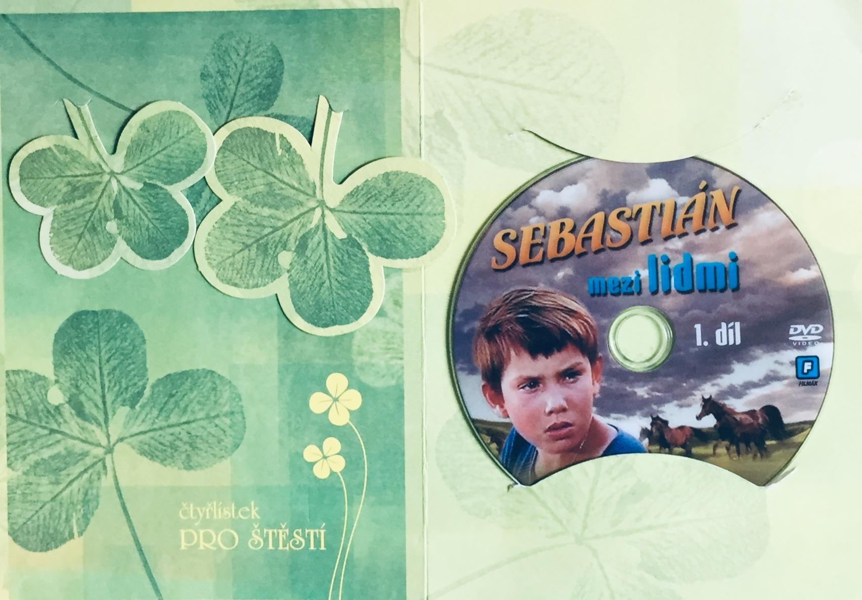Sebastián mezi lidmi - 1. díl - DVD /dárkový obal/