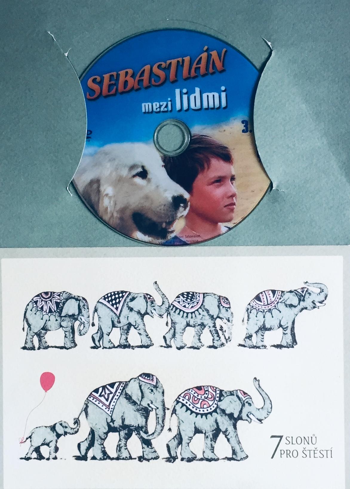 Sebastián mezi lidmi - 3. díl - DVD /dárkový obal/