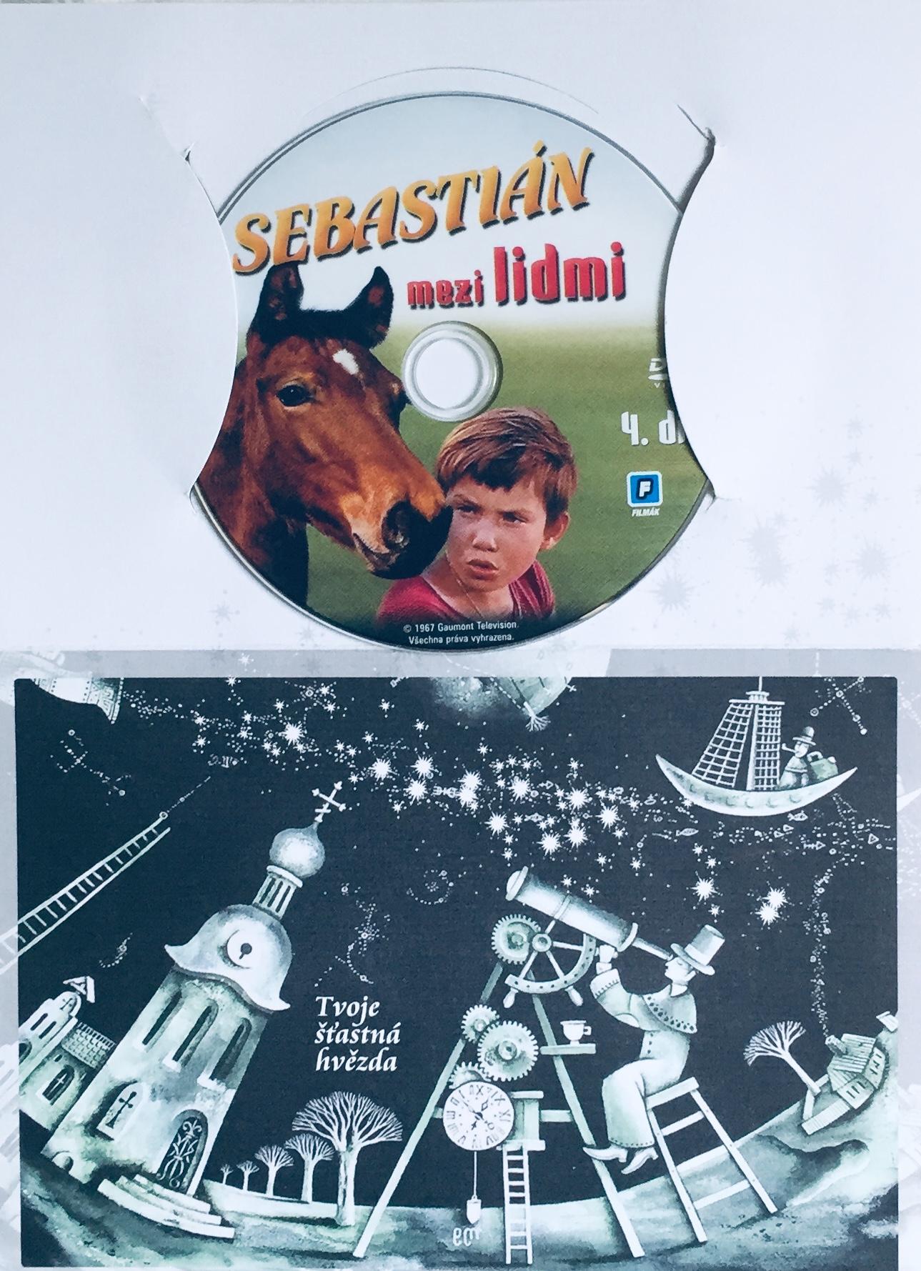 Sebastián mezi lidmi - 4. díl - DVD /dárkový obal/