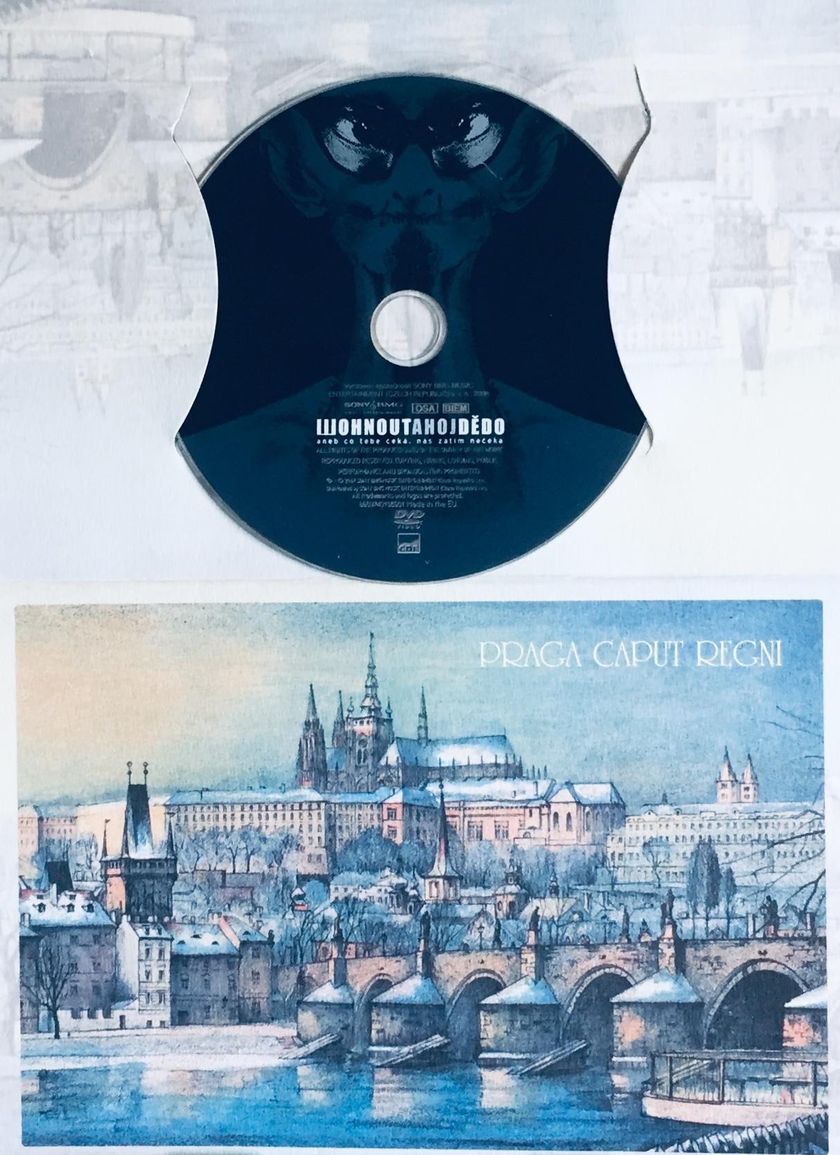 Wohnout - Ahoj dědo - DVD /dárkový obal/