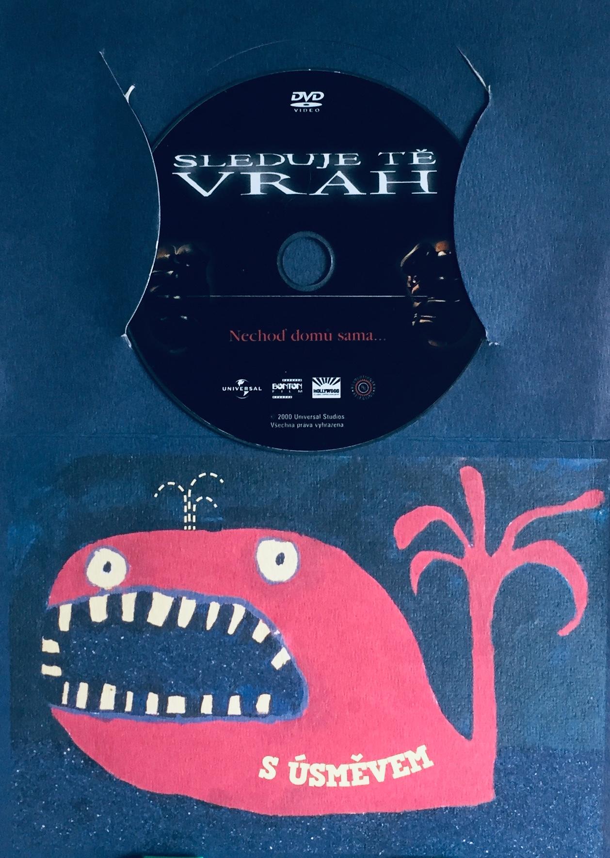 Sleduje tě vrah - DVD /dárkový obal/