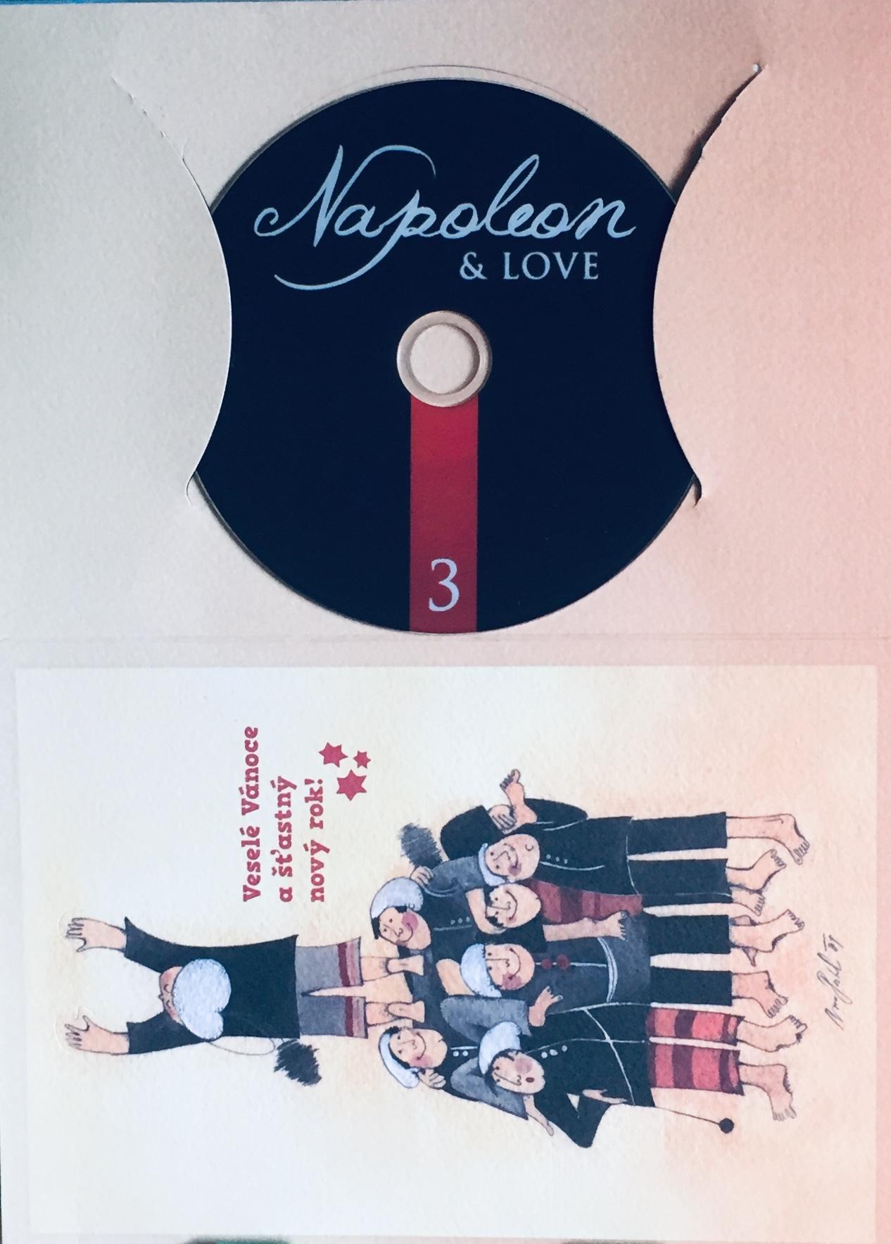 Napoleon a jeho lásky 3 - DVD /dárkový obal/