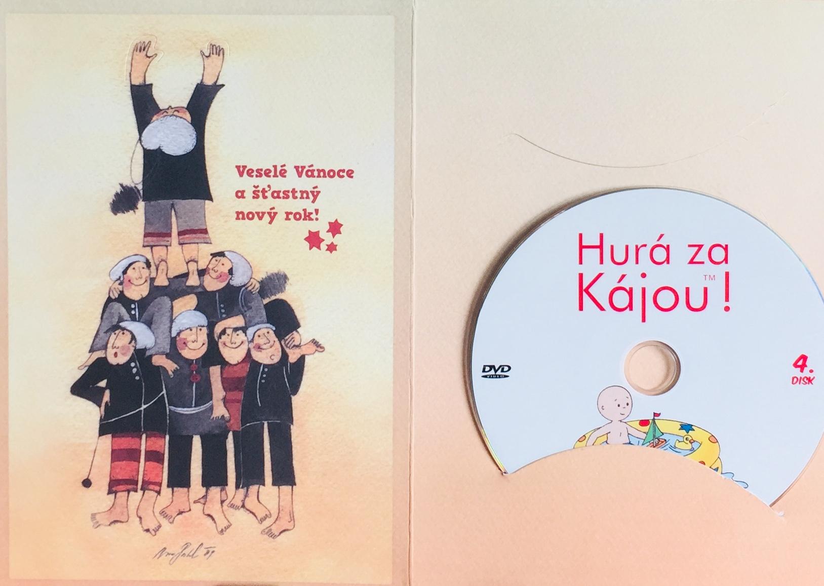 Hurá za Kájou! 4 - DVD /dárkový obal/