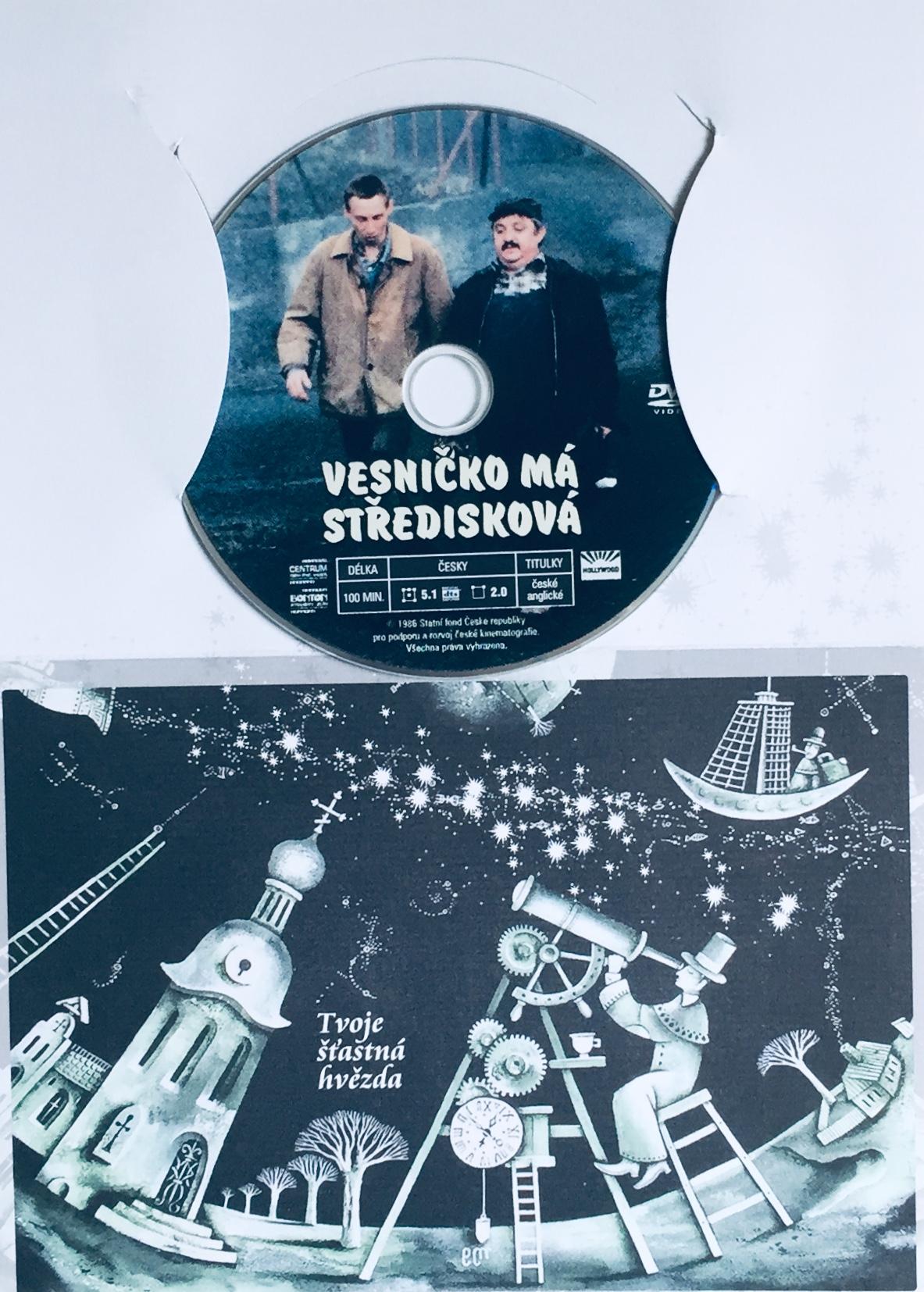 Vesničko má středisková - DVD /dárkový obal/