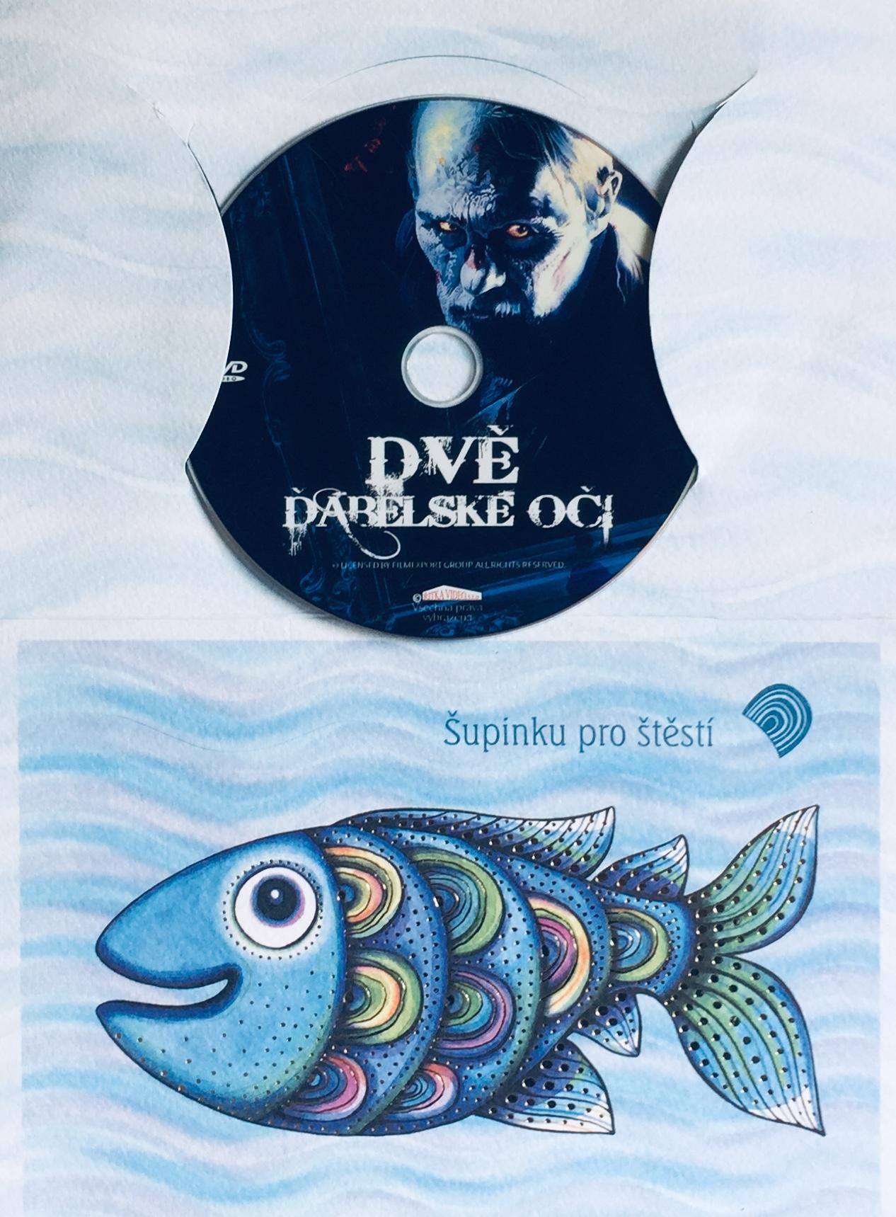 Dvě ďábelské oči - DVD /dárkový obal/