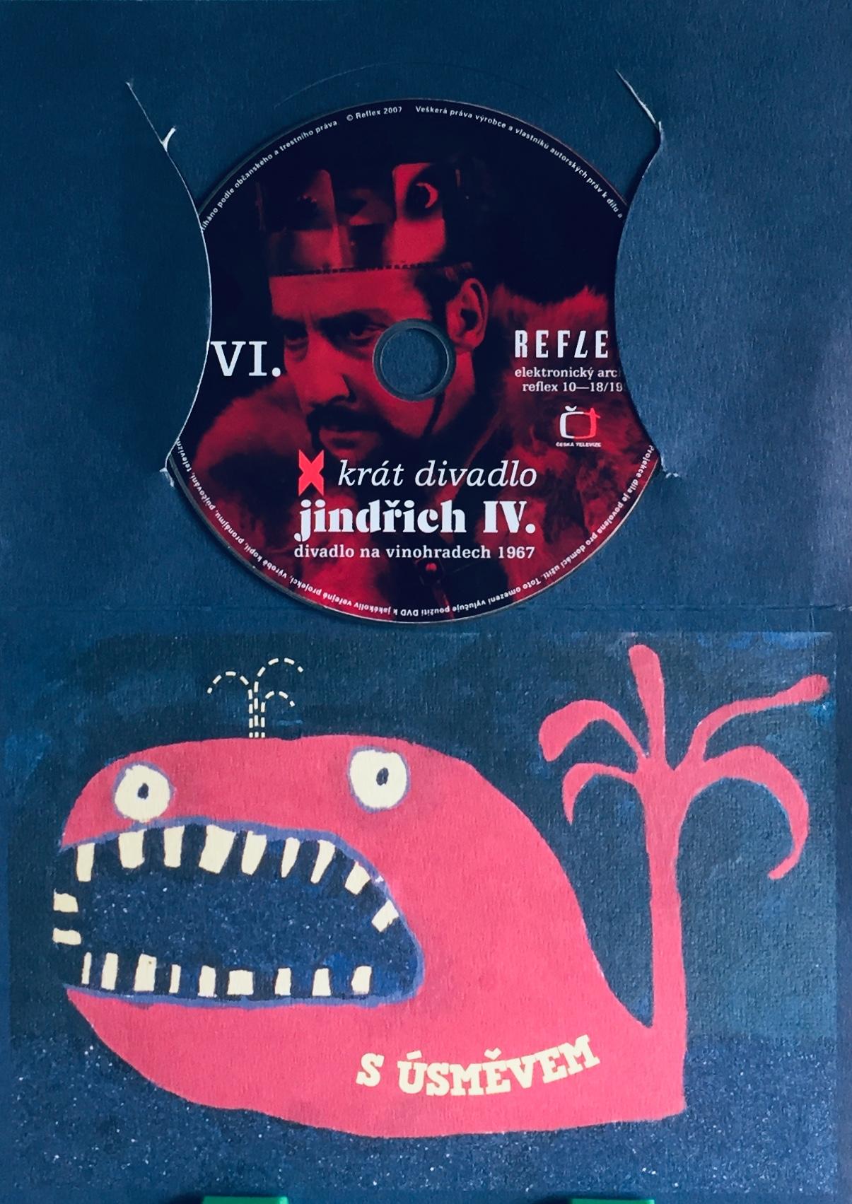 Jindřich IV. - x krát divadlo - DVD /dárkový obal/