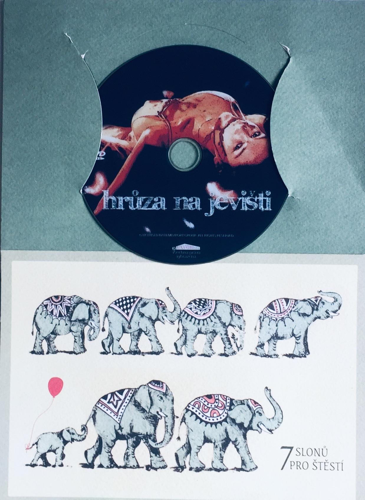 Hrůza na jevišti - DVD /dárkový obal/