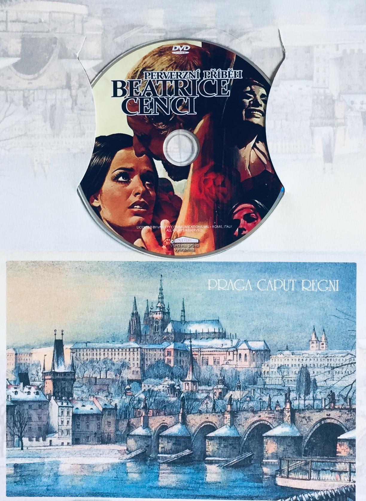 Perverzní příběh Beatrice Cenci - DVD /dárkový obal/