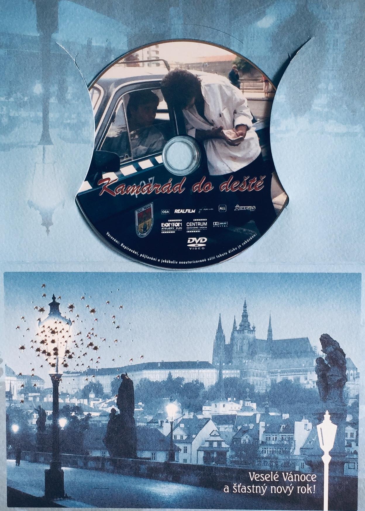 Kamarád do deště - DVD /dárkový obal/