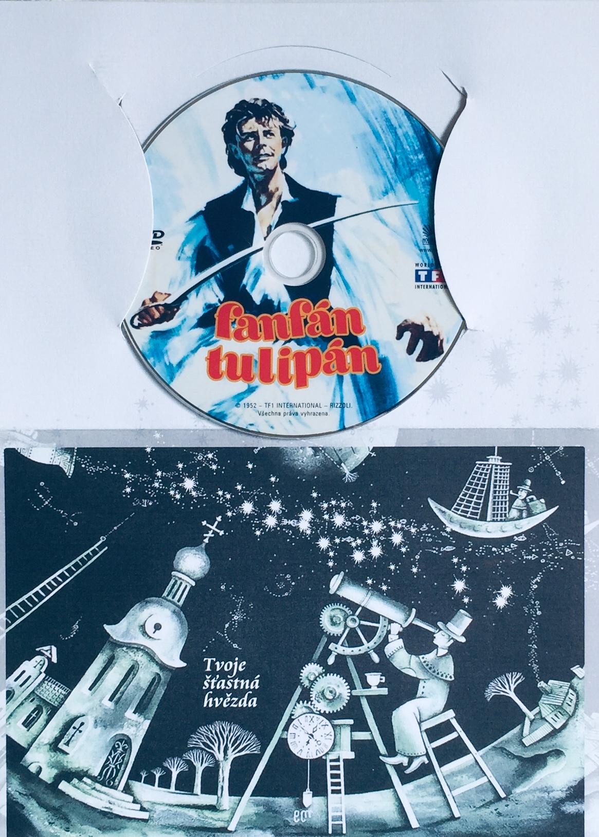 Fanfán Tulipán - DVD /dárkový obal/
